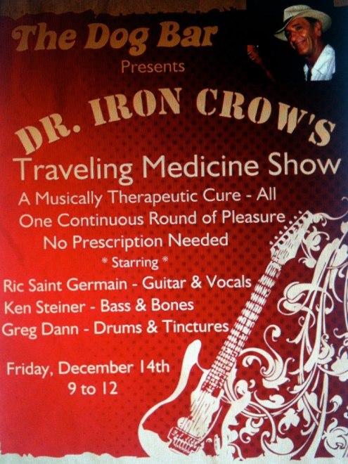 dr iron crow