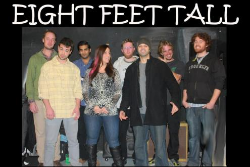 eight feet tall