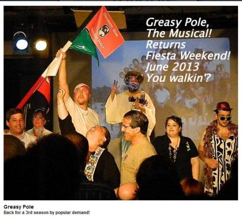greasy pole the musical northshorefolk