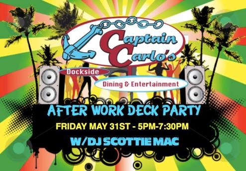 scottie mac deck party captain carlos