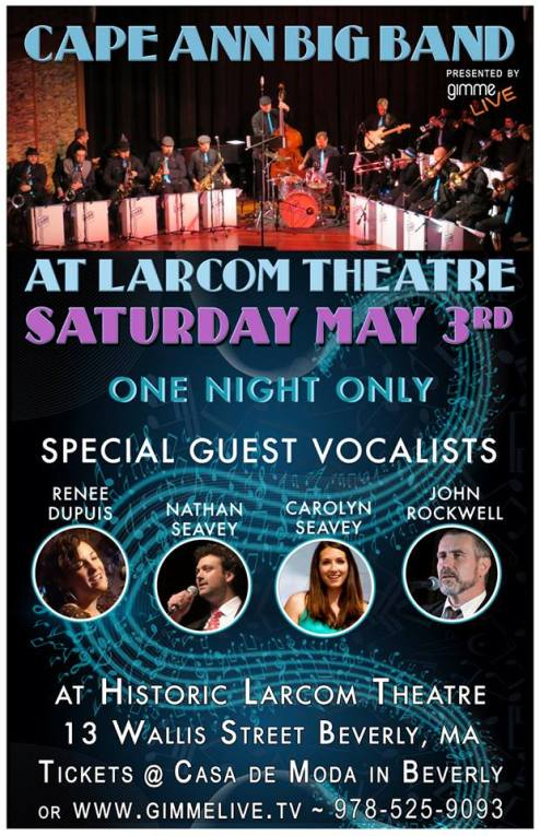 cape ann big band larcome