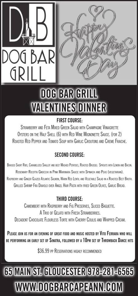 dog bar valentines