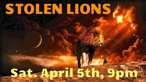 stolen lions