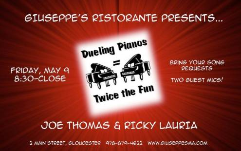 giuseppes dueling pianos