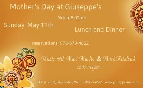 mothers day giuseppes