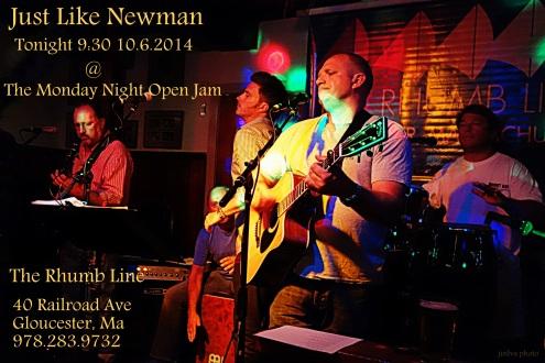 jln monday night open jam 10.6.2014