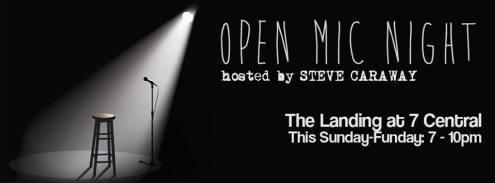 open mic steve caraway landing