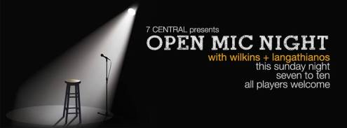open mic with chriss and joe featuring larry and fay