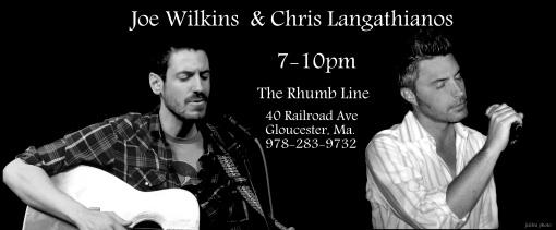 joe wilkins & chris langathianos