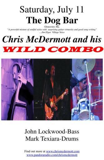 chris mcdrmott and his wild combo