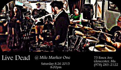 Live Dead kicks off it's Grateful Summer season at the Mile Marker. Come party on the water! Friday, May 29 at 8:00pm Mile Marker One in Gloucester, Massachusetts
