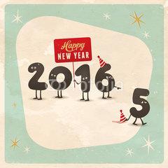 happy new year 2016 walk away