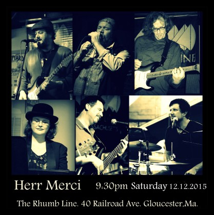 Herr Merci The Rhumb Line 12.12.2015