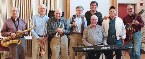 old salty jazz band