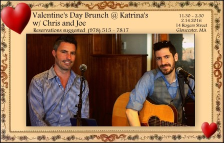 chris joe katrinas valentines day