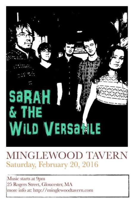 sarah and the wild versatile 2.20.2016