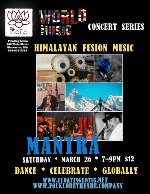 march music fusion at floating lotus
