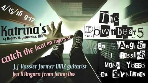 down beats jen d