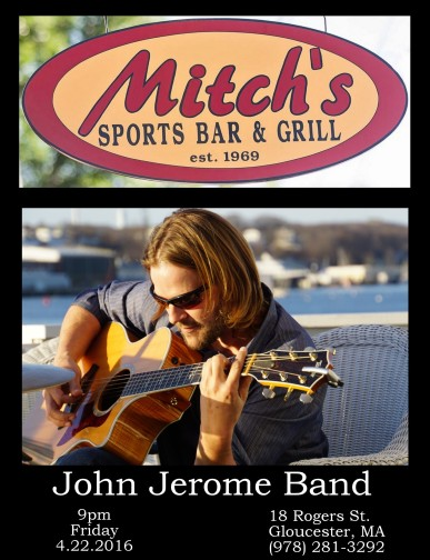 john jerome band 4.22.2016 mitchs