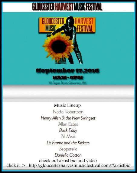gloucester harvest music festiva 2016