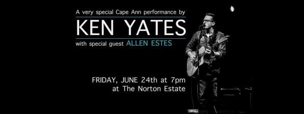KEN YATES with special guest ALLEN ESTES