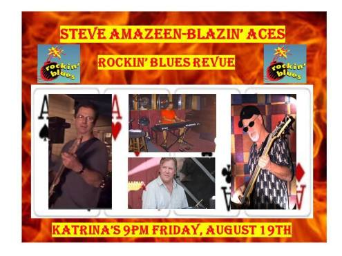steve amazeen band blazing aces