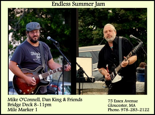 Mike O'Connell, Dan King, and friends Bridge Deck 8-11pm